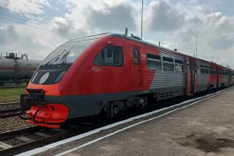 «Первый с 2009 года»: из Калининграда в Железнодорожный запустили рельсобус