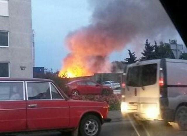 Напроспекте Калинина вКалининграде пламенеют складские помещения Избранное