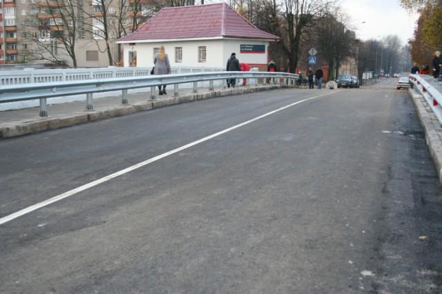 ВКалининграде открыли движение поотремонтированному мосту наулице Киевской Избранное