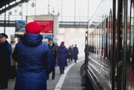РЖД меняет расписание поезда из Адлера в Калининград