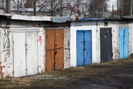 Городские власти нашли в Калининграде более двух тысяч незарегистрированных гаражей