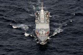 Корабли Балтфлота провели торпедную дуэль