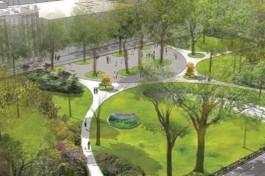 В Зеленоградске планируют благоустроить сквер перед гимназией «Вектор»