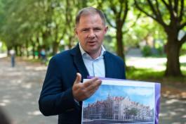 Вячеслав Генне покидает пост главного архитектора Калининграда