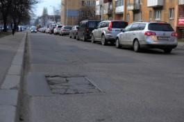 С 22 апреля в Калининграде закроют сквозное движение по улице Фрунзе