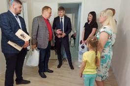 Семье из Калининграда помогли восстановить квартиру после взрыва газа