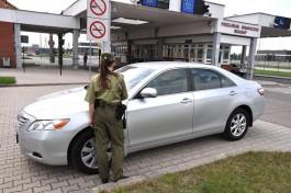 Польские пограничники задержали калининградца на краденой «Тойоте»