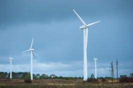 В Куликово начали демонтаж первых шести установок ветропарка