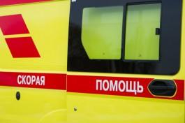 На улице Невского в Калининграде «Фольксваген» сбил девушку на переходе