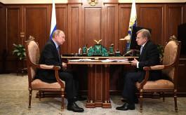 Гендиректор «Аэрофлота» рассказал Путину о небольшой загрузке рейсов в Калининград