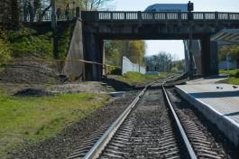 С 6 февраля меняется маршрут движения поездов мамоновского направления