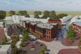 «Акфену» разрешили построить офисно-торговый центр на улице Черняховского в Калининграде