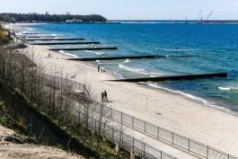 Океанолог дал неутешительный прогноз по состоянию пляжей Калининградской области