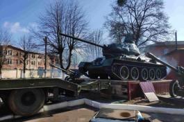 В Калининграде танк Т-34 1943 года отправят на ремонт перед участием в Параде Победы