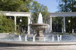 В Калининграде с 1 мая запустят фонтаны
