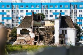 «Разрушить и застроить»: на улице Коммунистической в Калининграде сносят военный городок