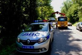 С Куршской косы начали эвакуировать автомобили туристов