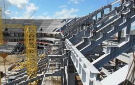 «Спорт-Инжиниринг»: «Скелет» стадиона на Острове готов на 99%