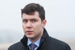 Алиханов: Пункт пропуска в Дубках на российско-литовской границе планируют открыть в 2019 году