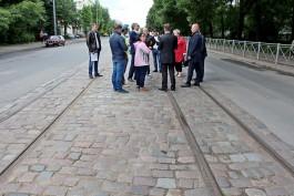 С улицы Багратиона в Калининграде уберут брусчатку