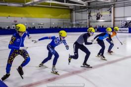 «Ледяной вираж»: в Гусеве провели этап всероссийской спартакиады по шорт-треку