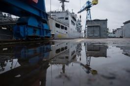 На заводе «Янтарь» заложили два больших десантных корабля для ВМФ России