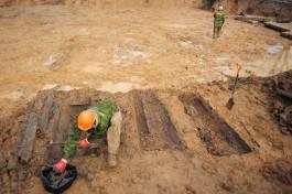 Мэрия: Могил и человеческих останков в районе реконструкции улицы Дачной не обнаружили