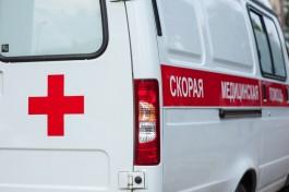 В центре Калининграда «Фольксваген» сбил выбежавшего на пешеходный переход подростка