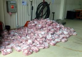 Безработный калининградец пытался ввезти в регион больше тонны санкционной свинины