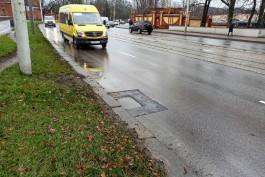 Дорожники начали ремонт канализационных люков на нескольких улицах Калининграда