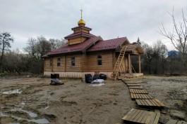 Калининградская епархия пообещала благоустроить территорию вокруг храма, где незаконно вырубили деревья