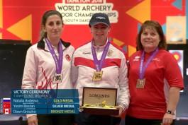 Калининградская лучница стала чемпионкой мира в США