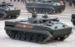 На вооружение полка Балтфлота в Калининграде поступили новые БМП
