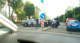 Из-за двух ДТП заблокировано движение на улице Невского в Калининграде