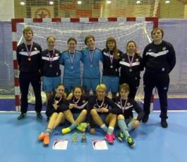 Калининградская команда стала второй на чемпионате округа по женскому мини-футболу