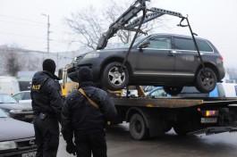 Приставы арестовали в Калининграде ещё 64 автомобиля стоимостью почти 41 млн рублей