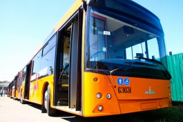 МАЗ планирует поставить в Калининград ещё 100 автобусов в 2017 году