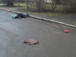 УМВД: Под колёсами грузовика на ул. Алданской погибла 86-летняя женщина
