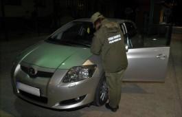 Поляки конфисковали «Тойоту» на погранпереходе Мамоново — Гжехотки