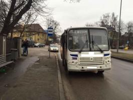 В Калининграде четырёхлетний ребёнок пострадал при падении в автобусе