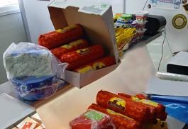 В торговом павильоне в Гурьевском округе изъяли 115 кг санкционных продуктов
