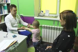 Калининградские врачи спасли трёхлетнюю девочку, на которую упала металлическая дверь