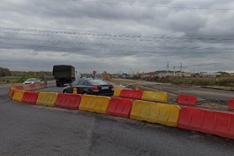Подрядчик: Пробки на Северном обходе после развязки на Невского не исчезнут минимум полтора года
