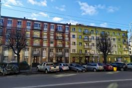 На улице Театральной в Калининграде открыли фасады домов после ремонта