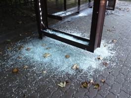 В новых остановочных павильонах Калининграда решили заменить стекло на пластик