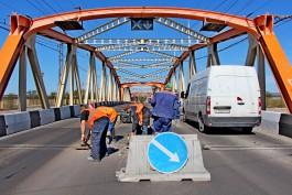 Власти объяснили, почему затянулся ремонт моста на улице Киевской в Калининграде