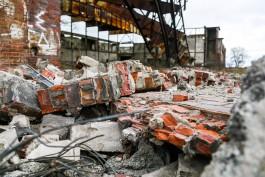 На Балтийской косе возобновили снос ангаров аэродрома «Нойтиф»