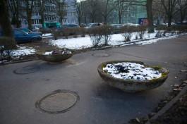 Власти Калининграда рассчитывают ускорить благоустройство пешеходного бульвара на улице Соммера