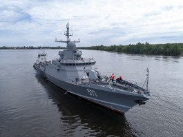 На Балтийский флот прибыл новый ракетный корабль
