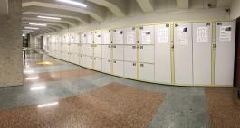 На Южном вокзале в Калининграде установили автоматические камеры хранения